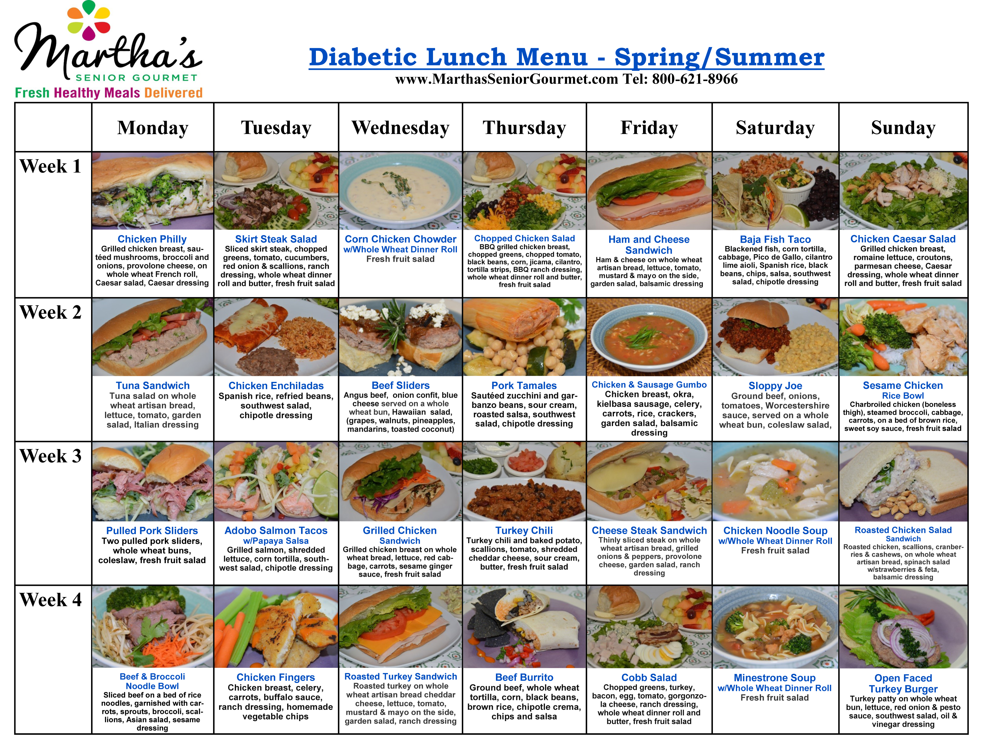 Diabetic Meals Delivered To Your Home Diabetic Meal Delivery